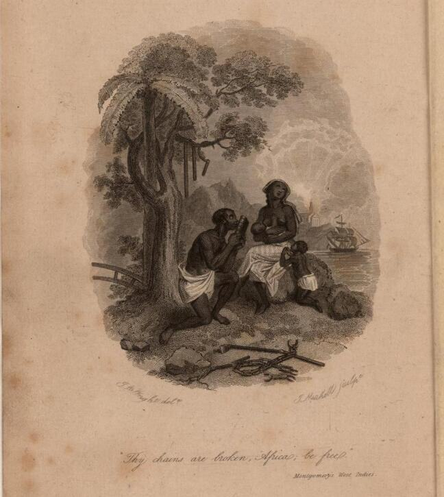 Freed West Indian Family