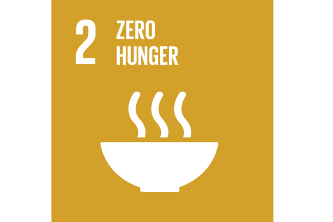 Zero Hunger Sustainable Development Goal Logo