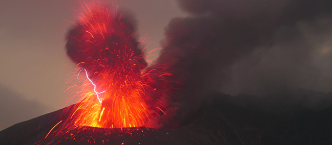 Volcano erupting – Getty Images