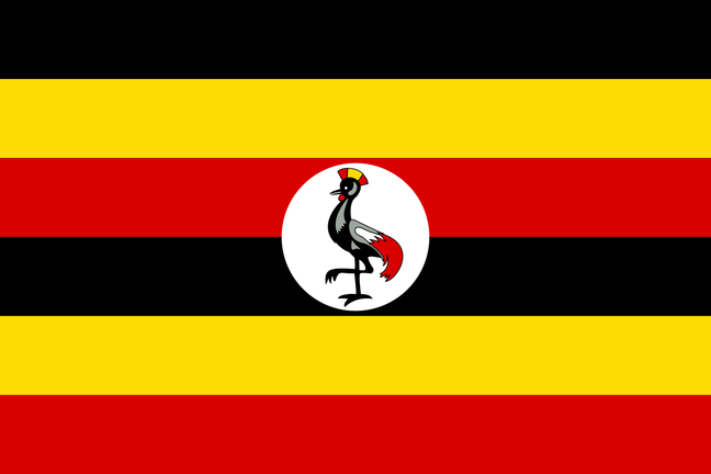 Image of the Ugandan flag