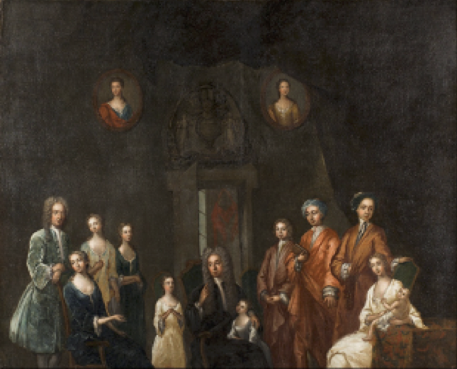 Portrait of Sir Francis Grant, Lord Cullen, and His Family