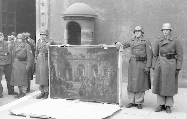 Nazi Art plunder
