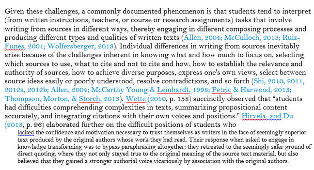 Randomly selected paragraph from a Literature review by Cumming et al