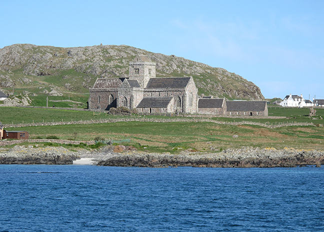 Figure 1, the abbey of Iona