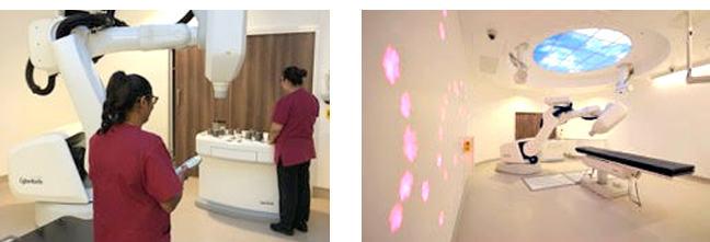 Mount Vernon Cancer Centre Interior