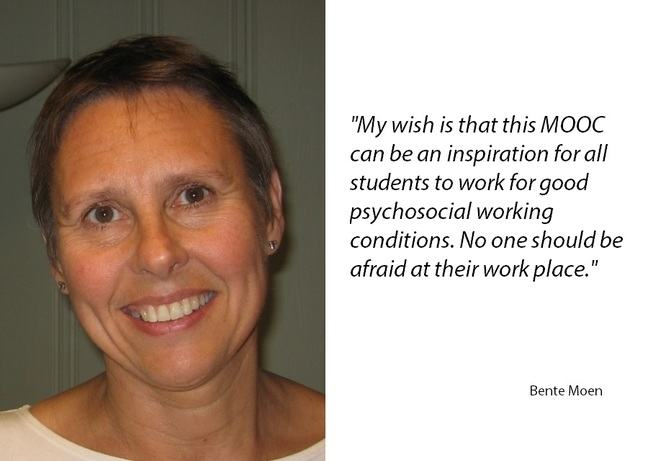 Profile picture of lead educator Bente E. Moen
