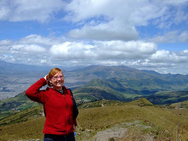 Donna in Ecuador