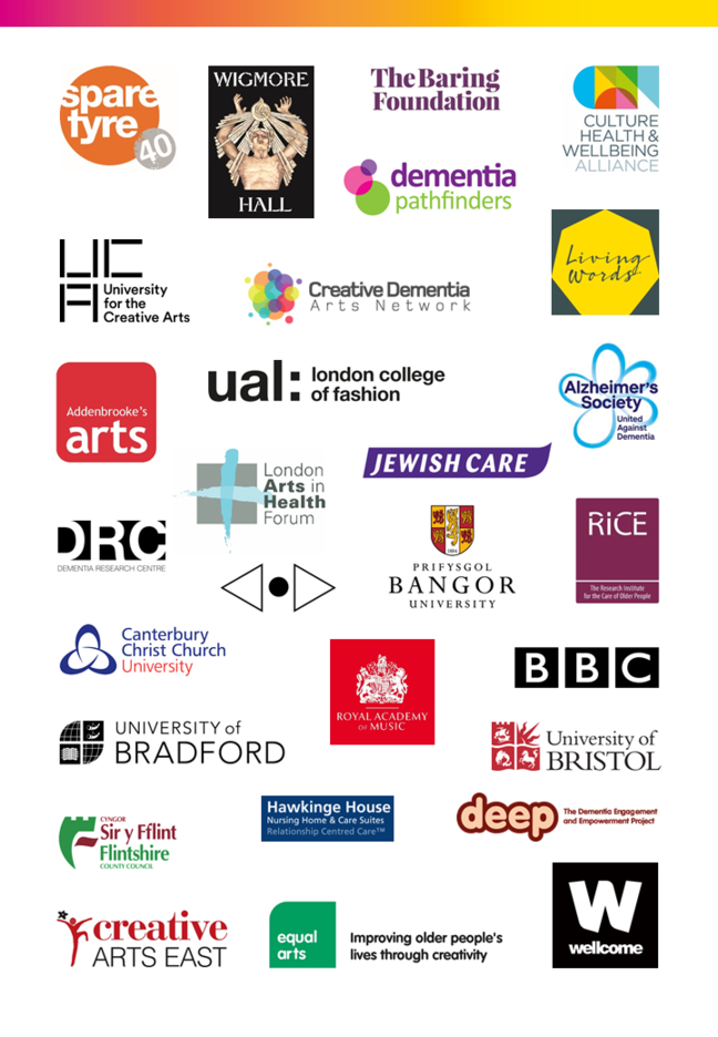 Image with collated logos of contributing organisations