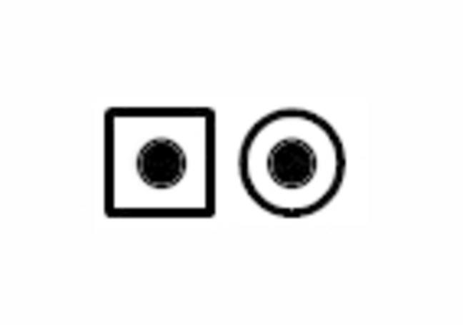 Shaded Dot Symbol