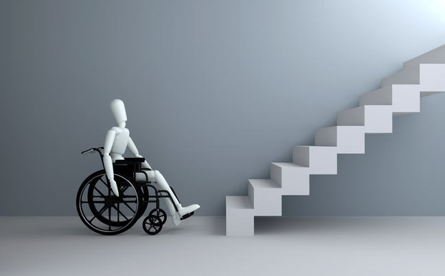 Wheelchair in front of staircase_COLOURBOX15490520.jpg