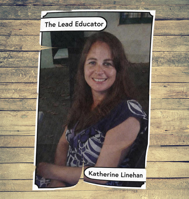 An image of Katherine, our lead educator
