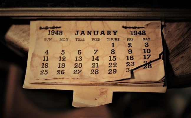 Week days calendar