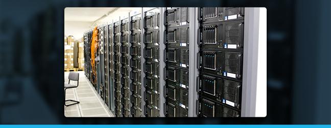 image of computer data servers