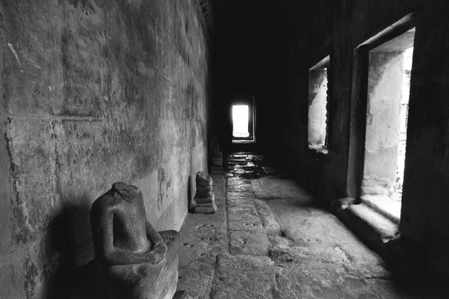 Headless Cambodia Statues
