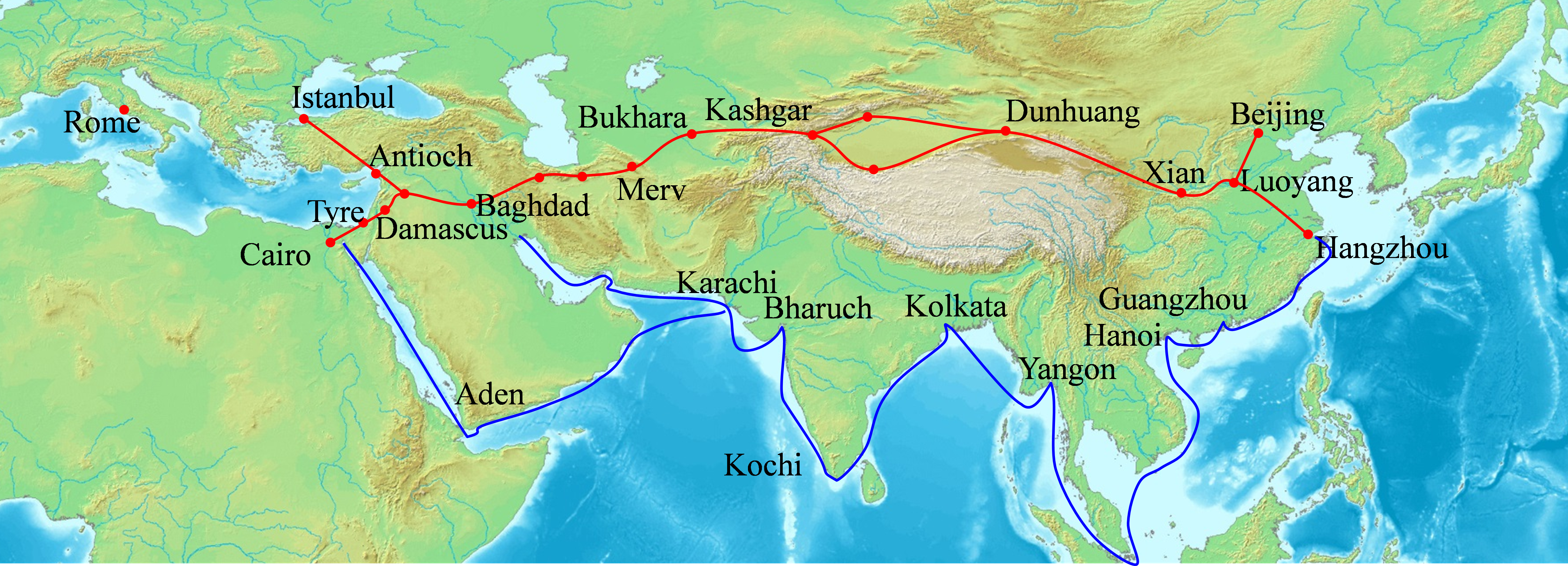 Alt the Silk Road