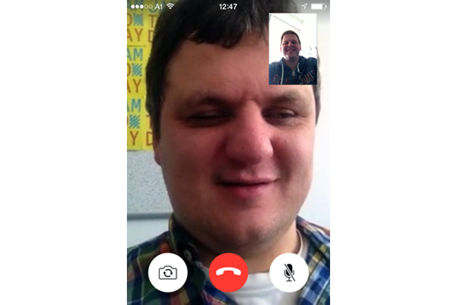 Video Call on a Mobile Device