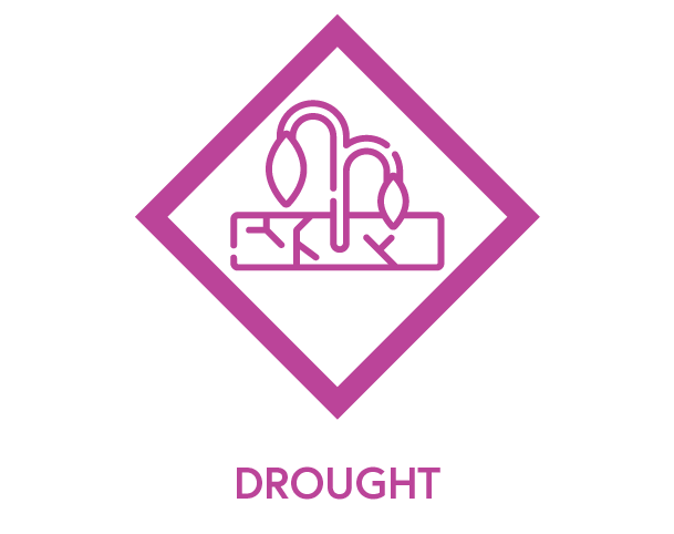 Symbol to show drought