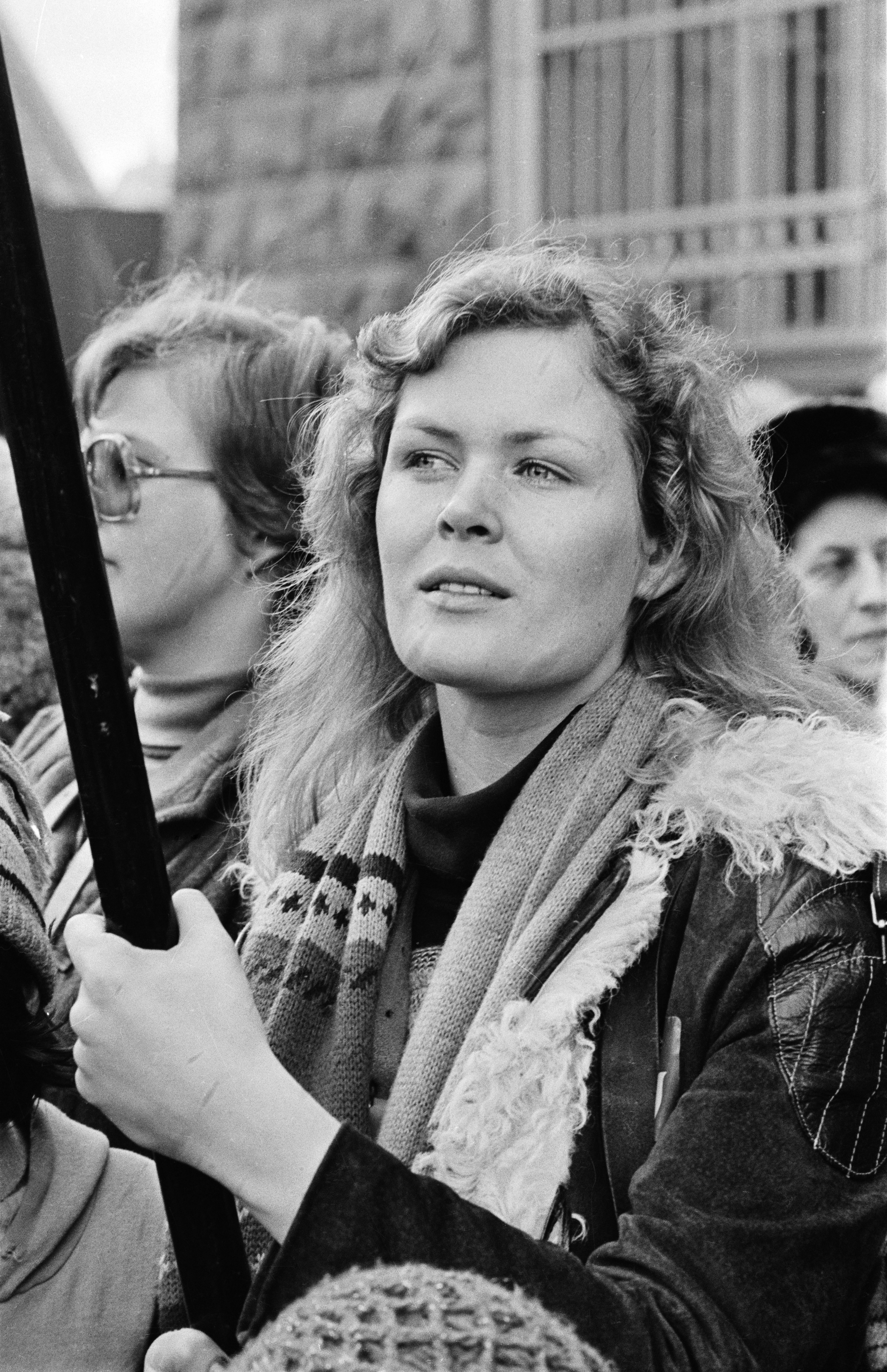 Woman striker