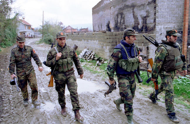 Soldiers of the Kosovo Liberation Army