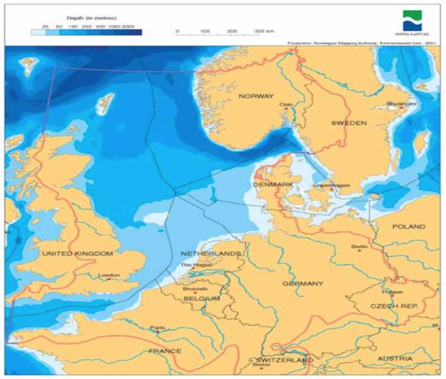 North Sea delimitation