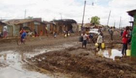 Nairobi slums/informal settlements
