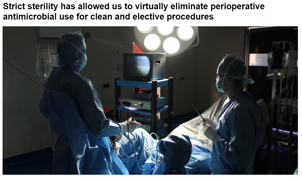 Strict sterility