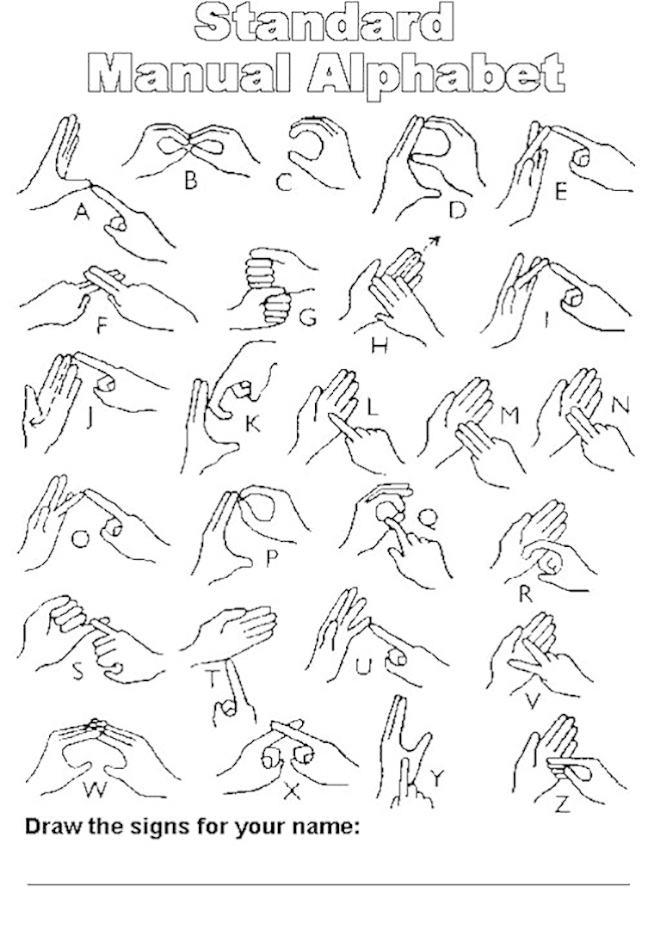 British Sign Language / Llengua de signes britànica / Lengua de signos británica