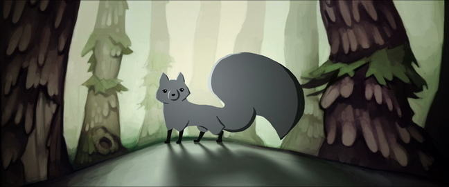 Still frame 3 - Girl in the Fox