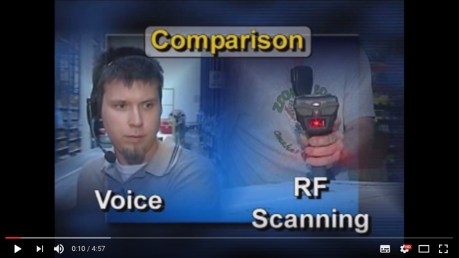 YouTube: Voice Picking vs RF Scanning