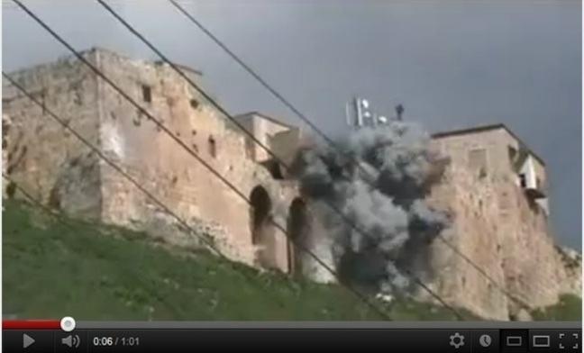 Qalaat al-Madiq shelling