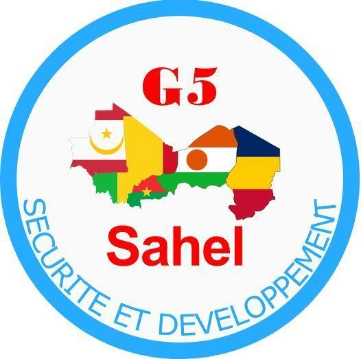 Logo of the G5 Sahel force, 9 April 2019