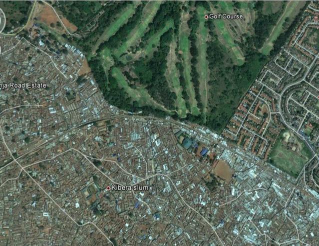 Kibera Aerial view