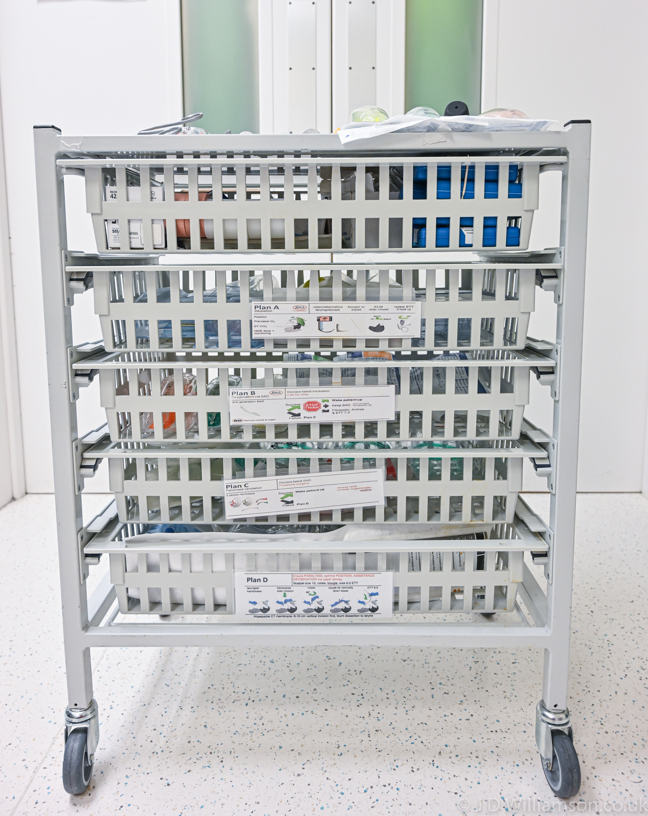 Airway trolley front