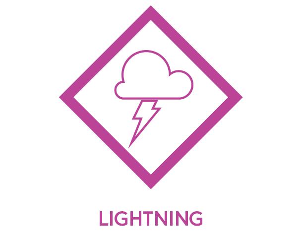 Symbol to show Lightning