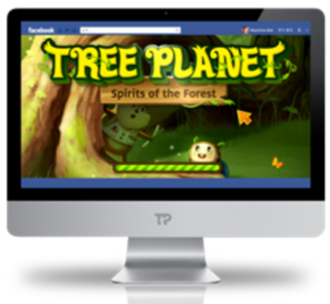 Tree planting game for Treeplanet