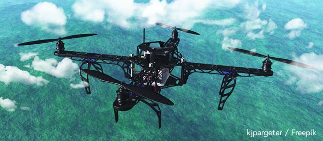 Research drone – kjpargeter / Freepik