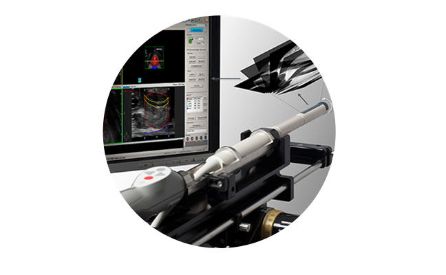 Machine used in prostate brachytherapy