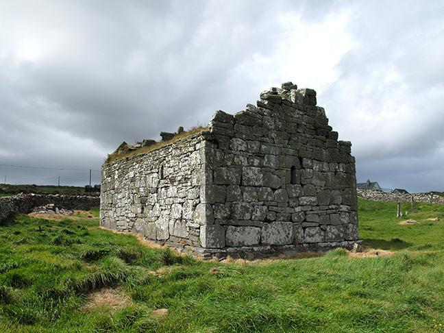 figure 5, Early church at Kilcummin, County Mayo