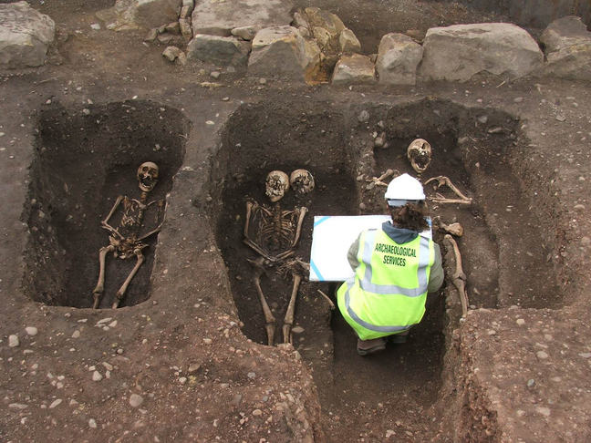 Excavating skeletons