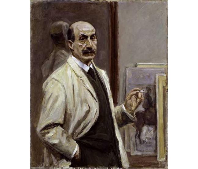 Liebermann self portrait