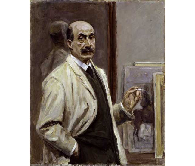 Liebermann self portrait