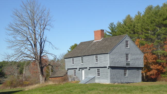 Photo showing the McIntire Garrison House today