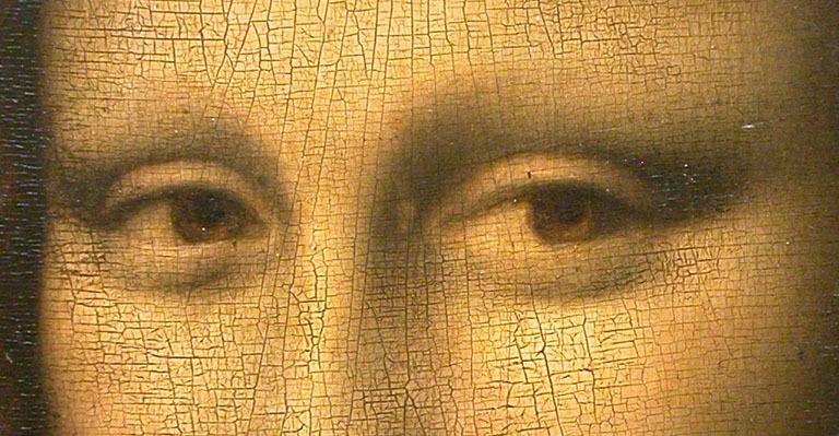 Mona Lisa detail