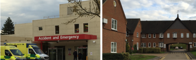 A&E Hospital and sheltered housing