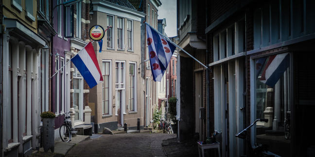 Dutch and Frisian flags