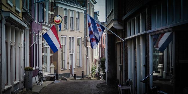 Dutch and Frisian flags