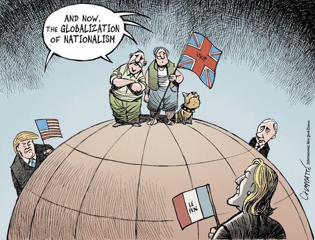 cartoon of post-brexit