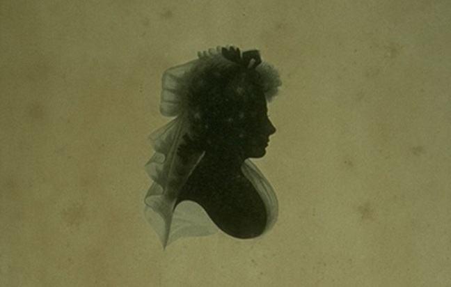 Framed Engraving of Clarinda