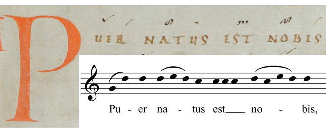 Transcription from the Graduale Romanum