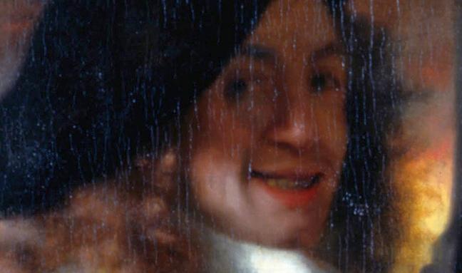 Possible Self Portrait of Vermeer